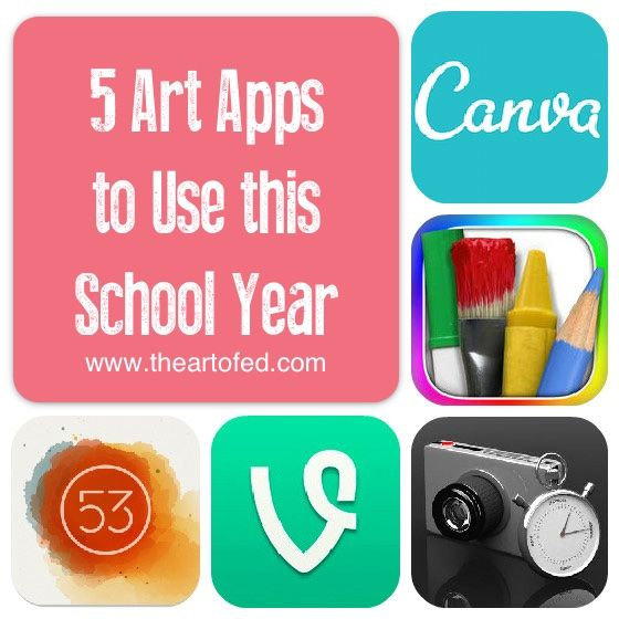 5 Art Apps to Use this School Year