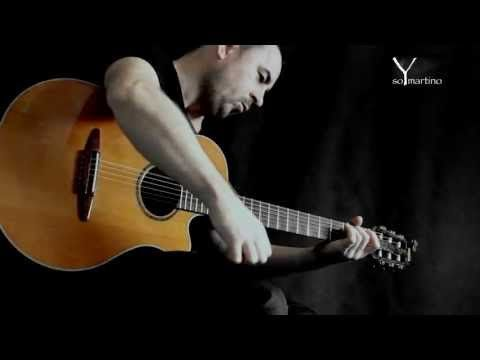 ONE by METALLICA -acoustic fingerstyle guitar cover + tabs by soYmartino - YouTube