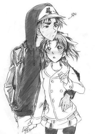 Heiji <3 Kazuha