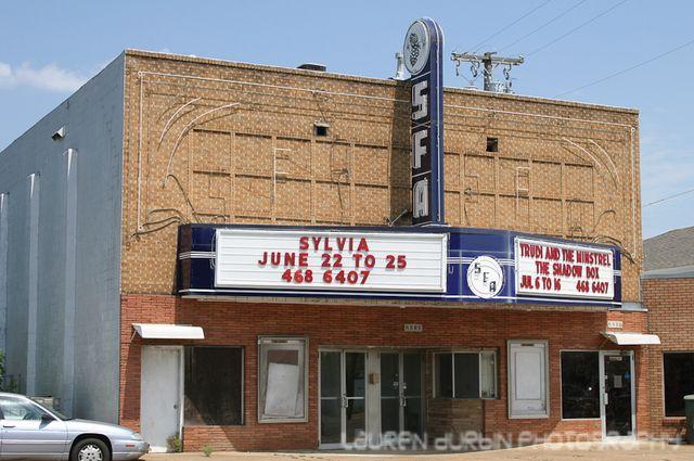 SFA Theater, Nacogdoches, TX.