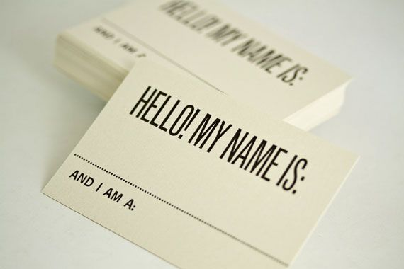 It would be cool to have buisness cards like these.
