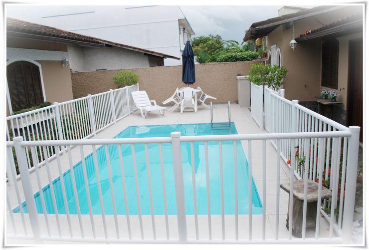 Proteção piscina