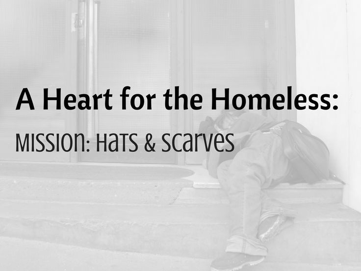 A Heart for the Homeless - Mission: Hats & Scarves - My daughter is collecting hats & scarves that she will be handing out to the homeless this fall and winter. Donations being accepted through Ambassador Crochet. Info included.