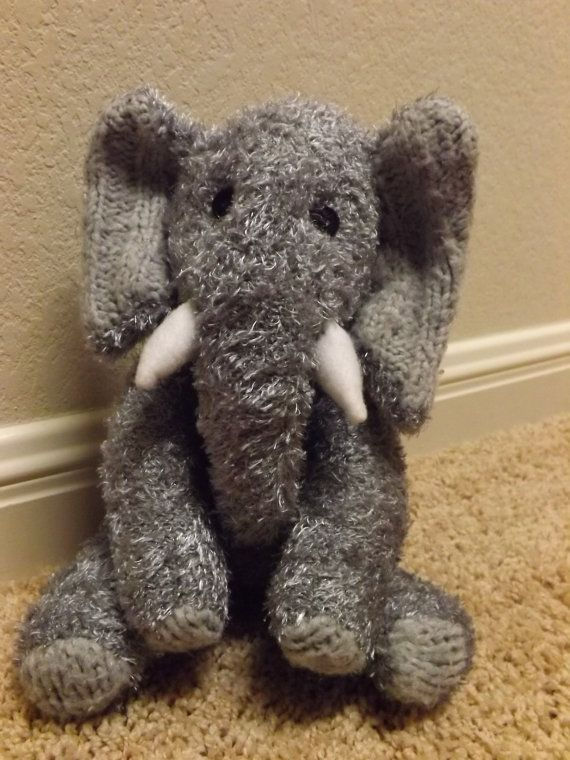 James is a hand stitched sock elephant. Stands by ChikiMonkeys