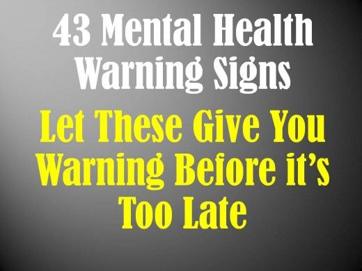Warning signs are those symptoms and behaviors that occur before a real mental health crisis event.  Each person has a unique set of warning signs. Know your warning signs.
