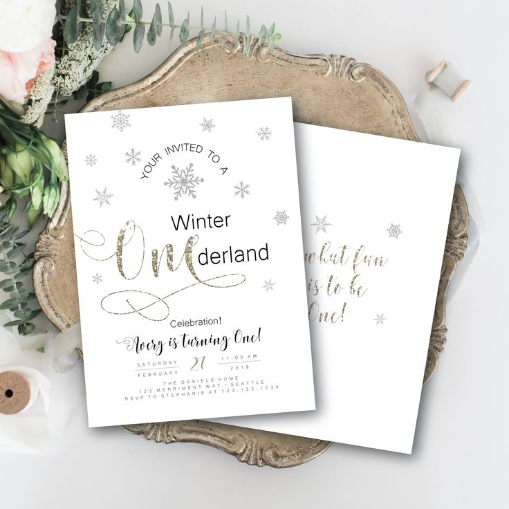 first birthday invitation wordings india%0A Winter Onederland Invitation First Birthday Glitter Sparkle Invite  Champagne Silver Black White Snowflakes Modern Elegant SEATTLE