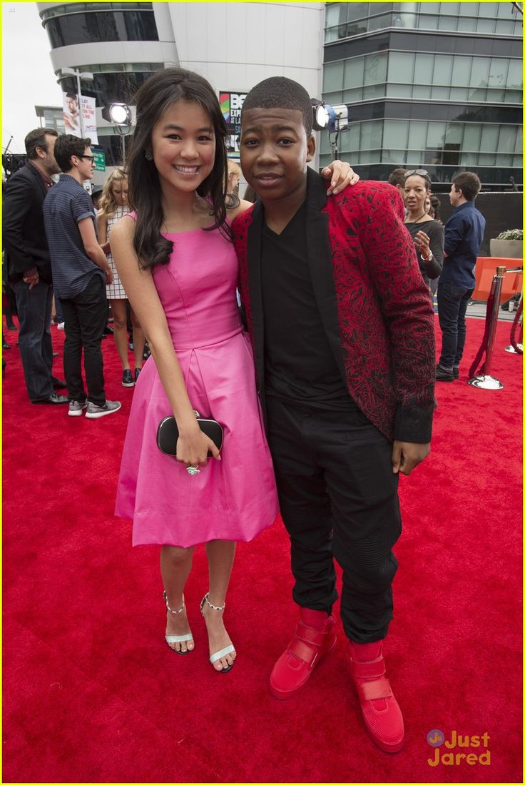 Mekai Curtis and Tiffany Espensen from Kirby Buckets at the RDMAS April 25,2015