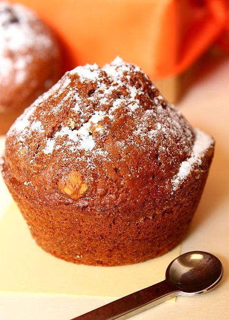 Muffins fara oua dar cu ciocolata!
