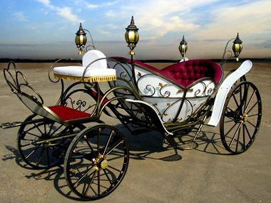 Cinderella Horse And Carriage | Cinderella Carriage - Wheel Carriages - Model Cinderella
