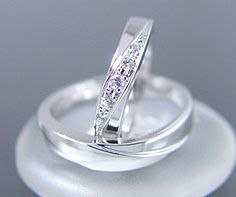PT900 Ladys And Mens Wedding Rings Ring MS0019