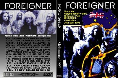 DVD - MR. MOONLIGHT TOUR - MELBOURNE TENNIS CENTER, AUSTRALIA 26.04.1995 AUDIENCE SHOT - 83 MINUTES -  NO MENUE