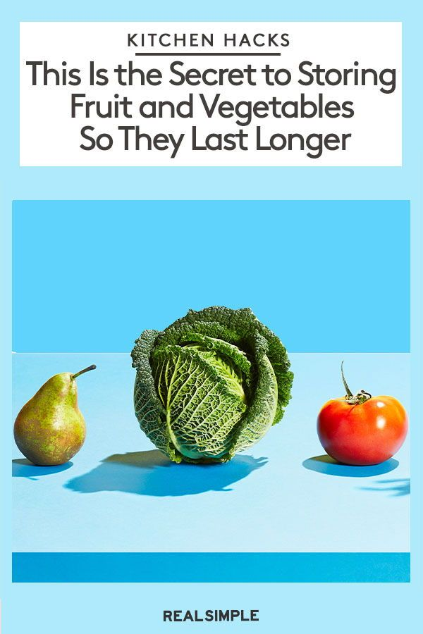 How To Store Fruits And Vegetables So They Last Longer Fruit Fruits And Vegetables Vegetables