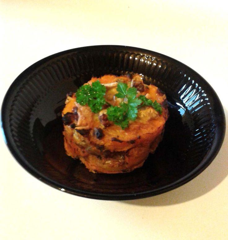 Potiron et patate douce gratinés aux marrons, la recette d'Ôdélices : retrouvez les ingrédients, la préparation, des recettes similaires et des photos qui donnent envie !