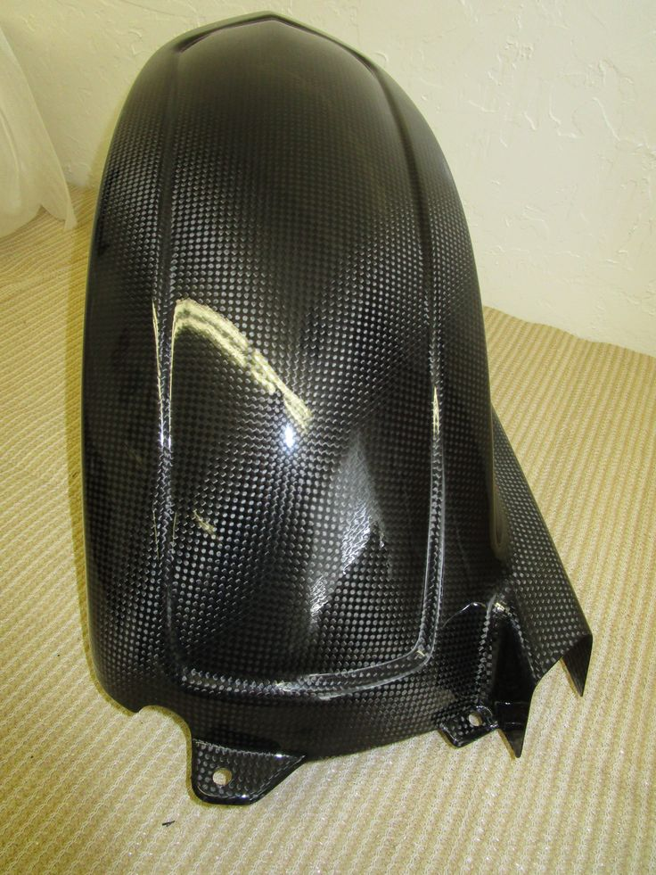 Ducati Monster 750-620cc NOS, Carbon Fiber Rear Mudguard, #48011811AB