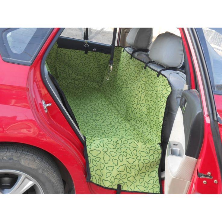 Pet Car Back Seat Cover Hammock Blanket Protector Cradle