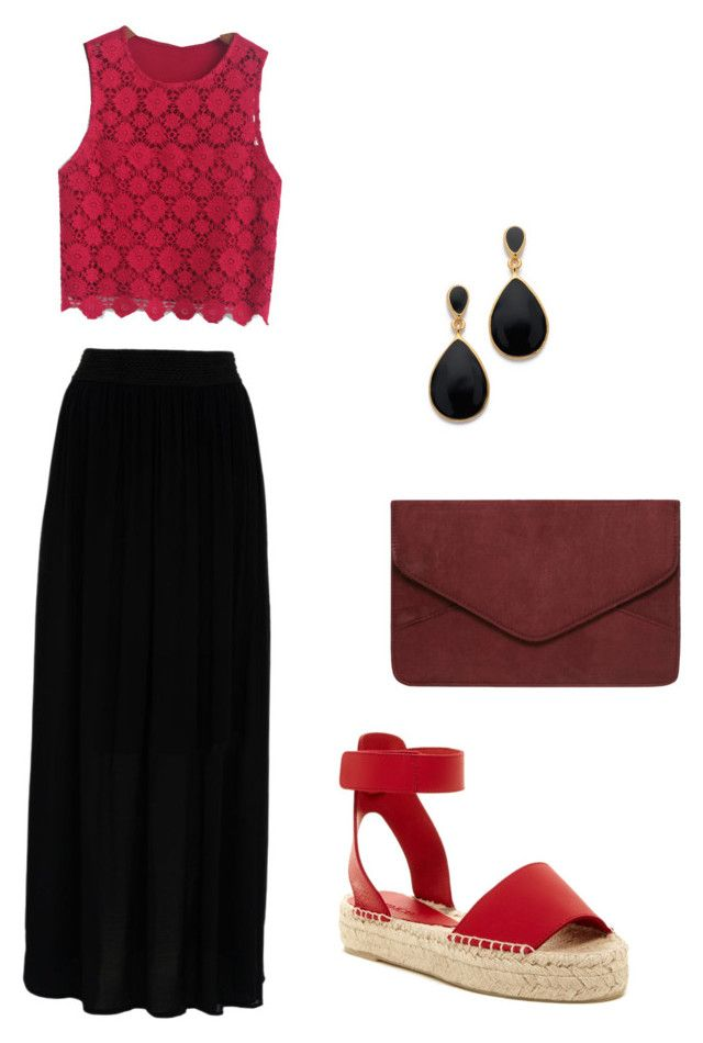 Untitled #14 by marce-castaneda on Polyvore featuring polyvore, fashion, style, Hallhuber, Vince, Dorothy Perkins and Kenneth Jay Lane
