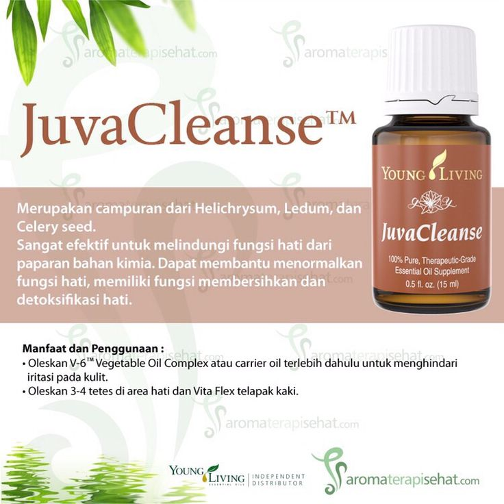 JuvaCleanse Essential Oil