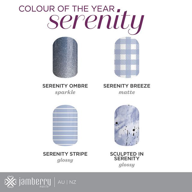 Such great nail art options! Love the sparkly Serenity Ombre one!