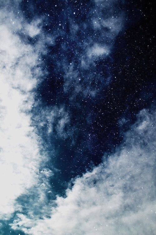 Imagem de sky, stars, and blue