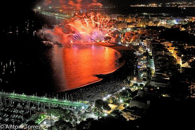 Concurs de focs artificials de Blanes 2010 - Spain