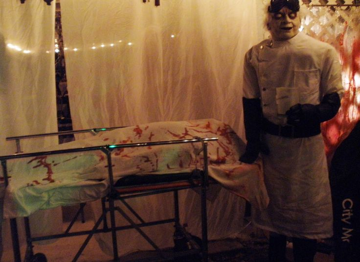 Part Of The 2014 Halloween Morgue