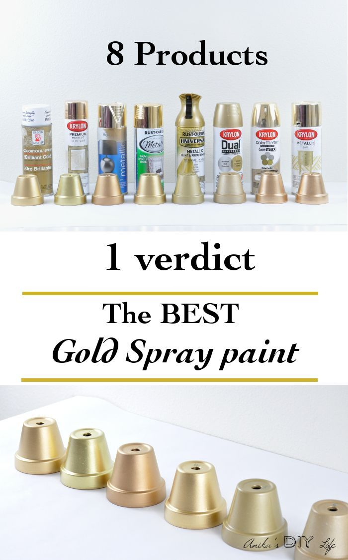 Looking For The Best Gold Spray Paint Diy Projects