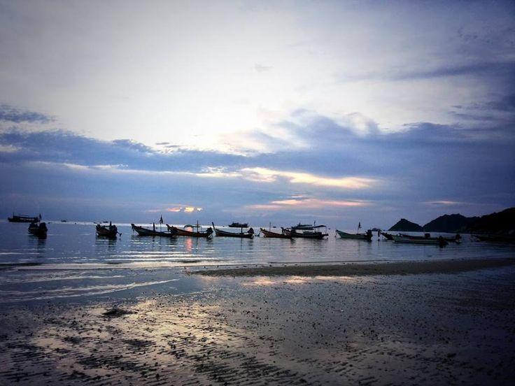 A lovely #sunset at Sairee #beach, Koh Tao. #GrabYourDream #TravelAdventurer #travel #adventure