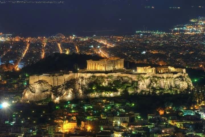 El Partenón de Atenas, Grecia.