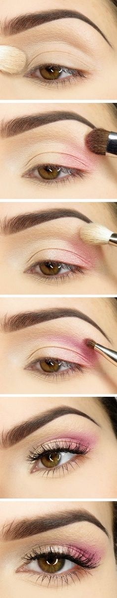 Pink Smokey Eye Makeup Tutorial                                                                                                                                                                                 More