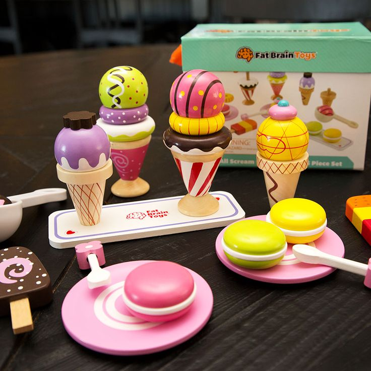 We All Scream for Ice Cream 25 Piece Set - Best for Ages 3 ...