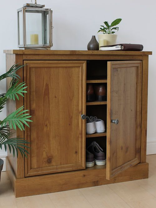 Shoe Storage Cabinet - Montana Oak