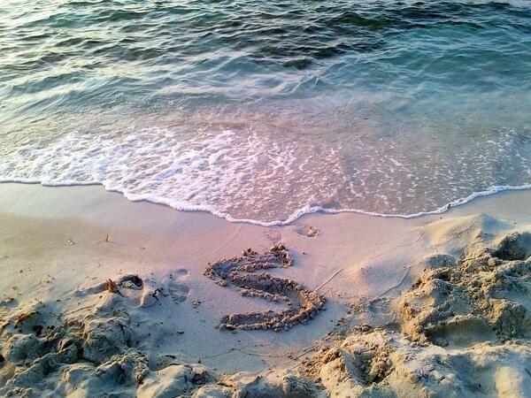 Permalien de l'image intégrée - Coucher de soleil sur la plage de L'Ile-Rousse