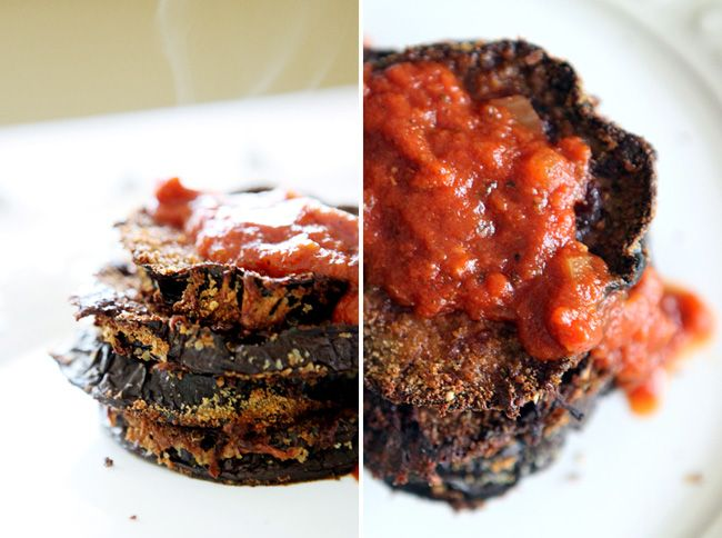 How to make baked eggplant parm.