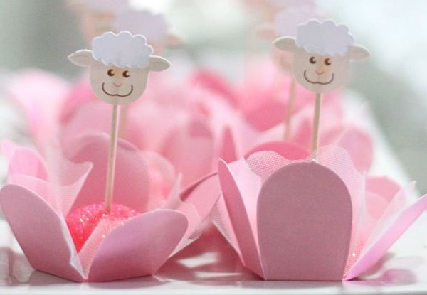 35 ideias para fazer um chá de bebê com tema ovelhinhas