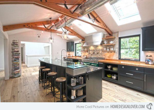 15 outstanding industrial kitchens - Industrial Kitchen Ideas