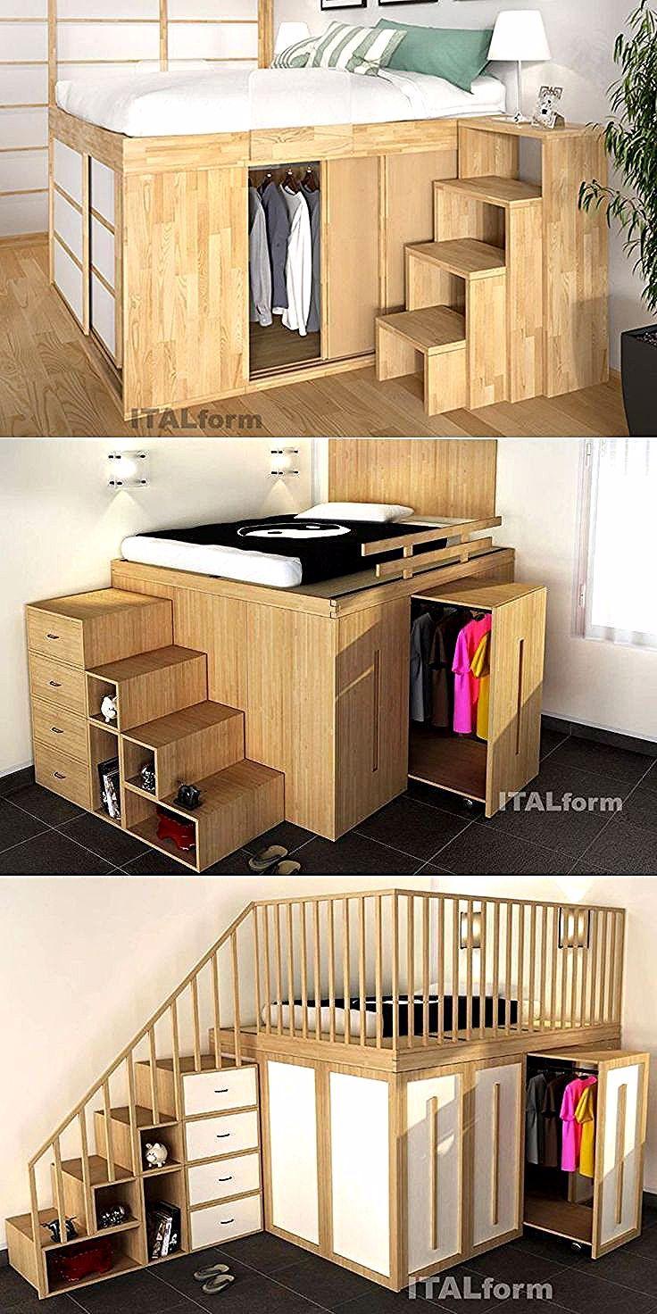 3 Platzsparende Ideen Fur Kleine Schlafzimmer Fur Ideen Kleine
