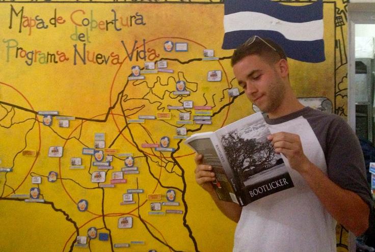 David Janet traveling through El Salvador with Bootlicker.