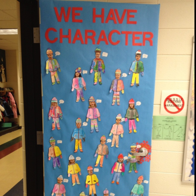 Classroom Ideas For January ~ Best classroom doors images on pinterest decorated