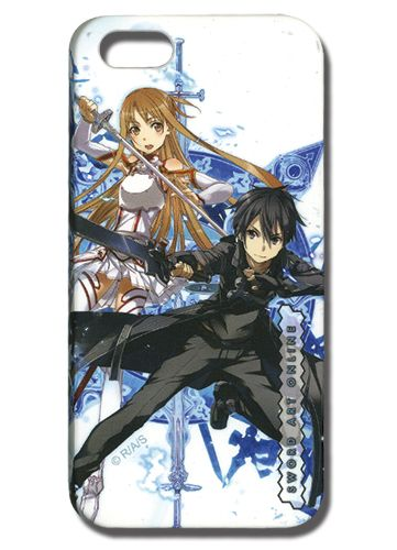 Sword Art Online iPhone 5 Case - Asuna & Kirito @Archonia_US