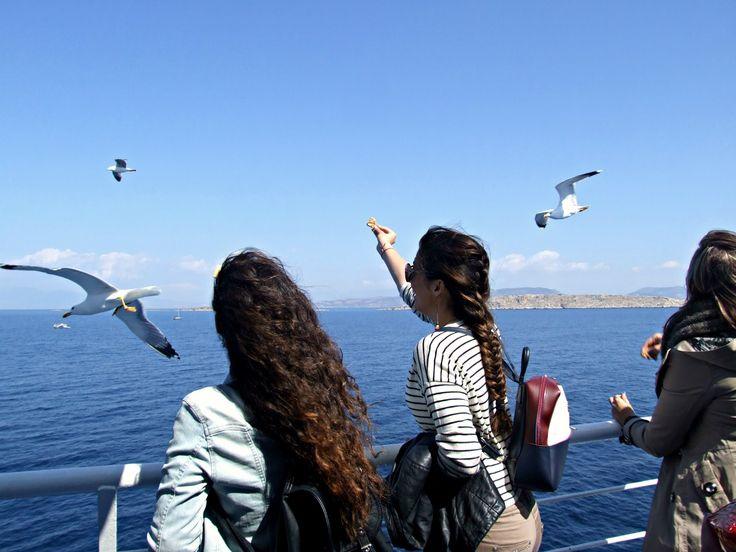 So many blue in Aegina - Study About Fashion - by Alexandra Alexandridou