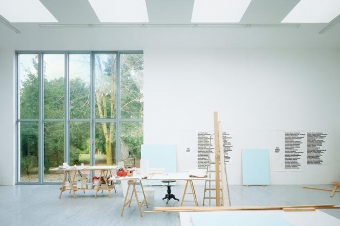 studio remy zaugg by herzog & de meuron: Museums Architecture, Artists Studios, Modern Art, Studios Spaces, Studios Art, The Artists, Exhibitions Spaces, Offices Design, Photography Studios