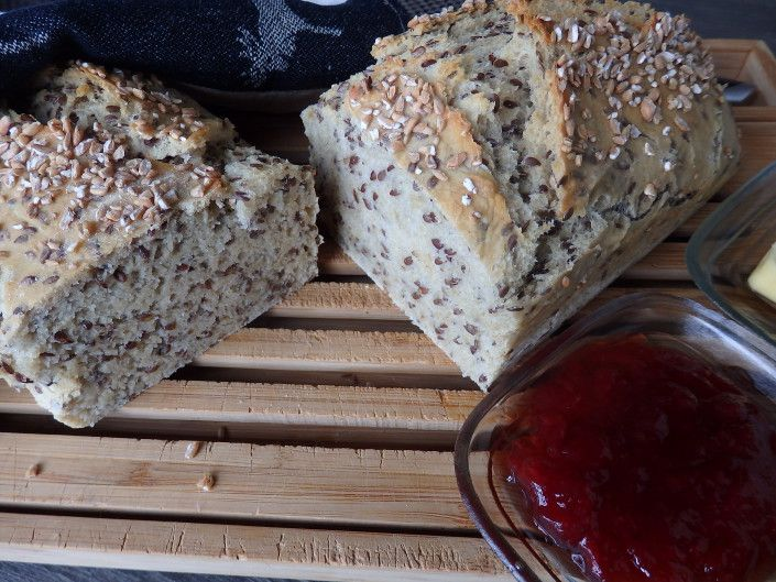 "Our ""Wanted, Bread or Alive"" campaign has introduced us to many New and exciting bread recipes. This one is a favourite. We call it Hans Petter bread – Oatmeal bread. www.icookkitchen.no"