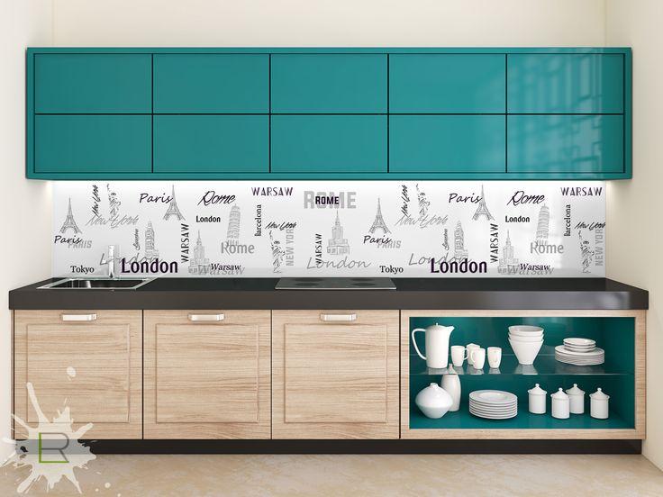 Fototapeta do kuchni Typografia