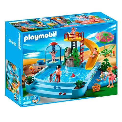 Les 25 meilleures id es de la cat gorie piscine playmobil for Piscine avec terrasse playmobil