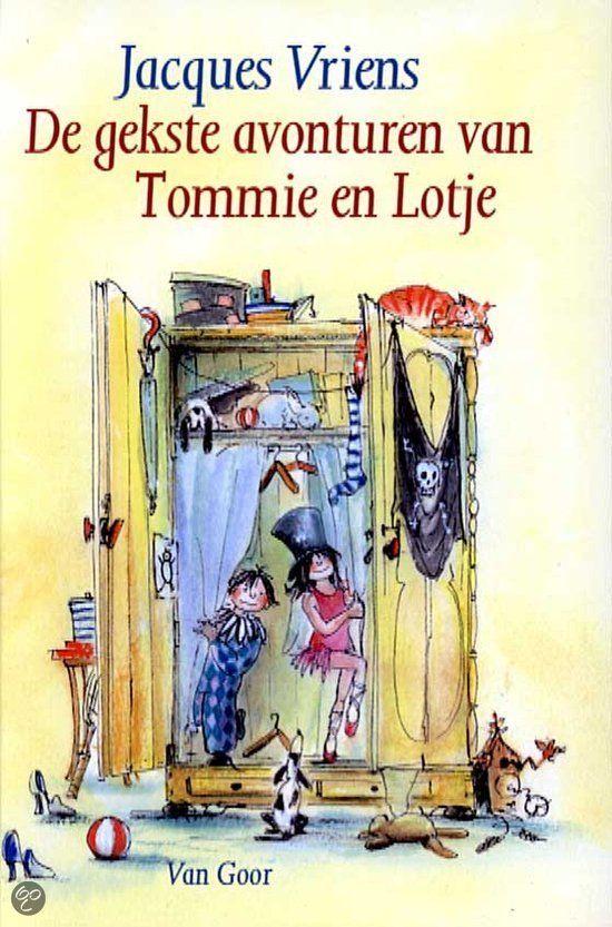 bol.com | Gekste Avonturen Van Tommie En Lotje, Jacques Vriens | Boeken