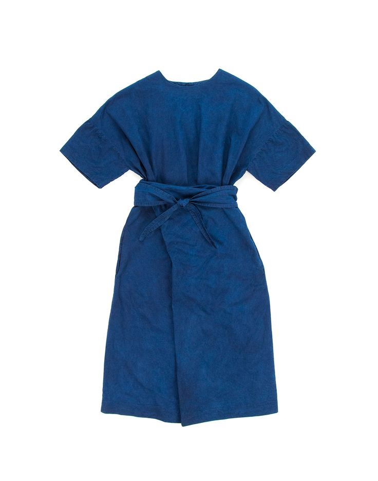 [Center for COSMIC WONDER Online Store]Organic cotton wrapped dress