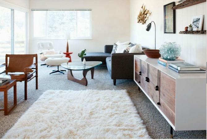 Noguchi coffee table  via Rue Feb2012 Designer Serena Armstrong/Photo Sean Dagen
