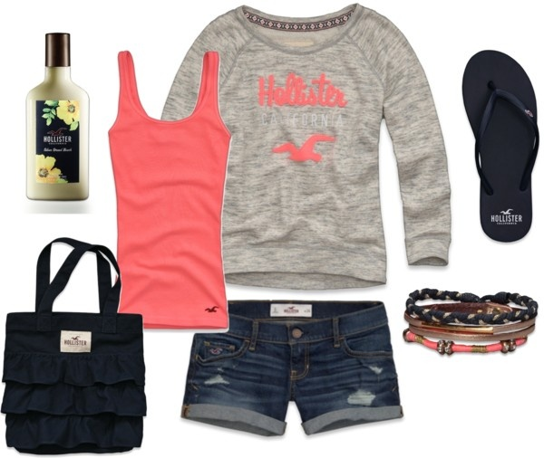 """Completely Hollister"" by photo-chic ❤ liked on Polyvore"