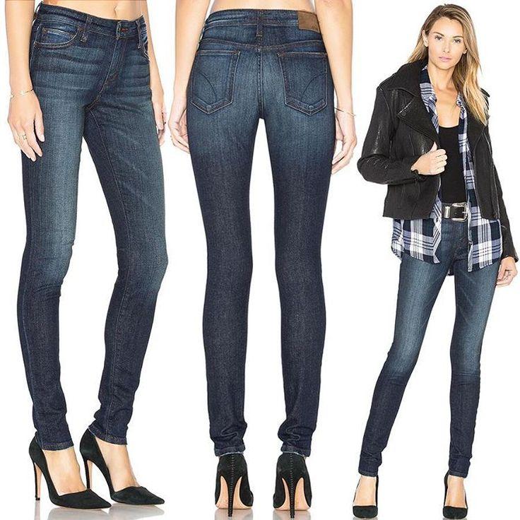 Нам нравится абсолютно всё в этих джинсах Joe's: винтажная варка с потертостями, гармонично сочетающаяся с ней коричневая строчка и замшевый лейбл, зауженный силуэт с идеальным облеганием и великолепный деним. В них есть настоящая американская made-in-the-USA харизма. Cool!  #stylish & #trendy #Joes #denim #jeans help to create #chic #outfit #мода #стиль #тренды #джинсы #модно #стильно #зима #киев #JiST