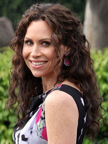 Extra-long locks: Minnie Driver